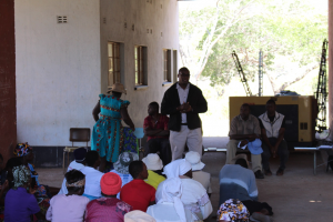 Irrigation Scheme small holder farmers in Mhondoro Zimbabwe