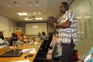 At Integral Africa Roundtable (September 2017) in Johannesburg
