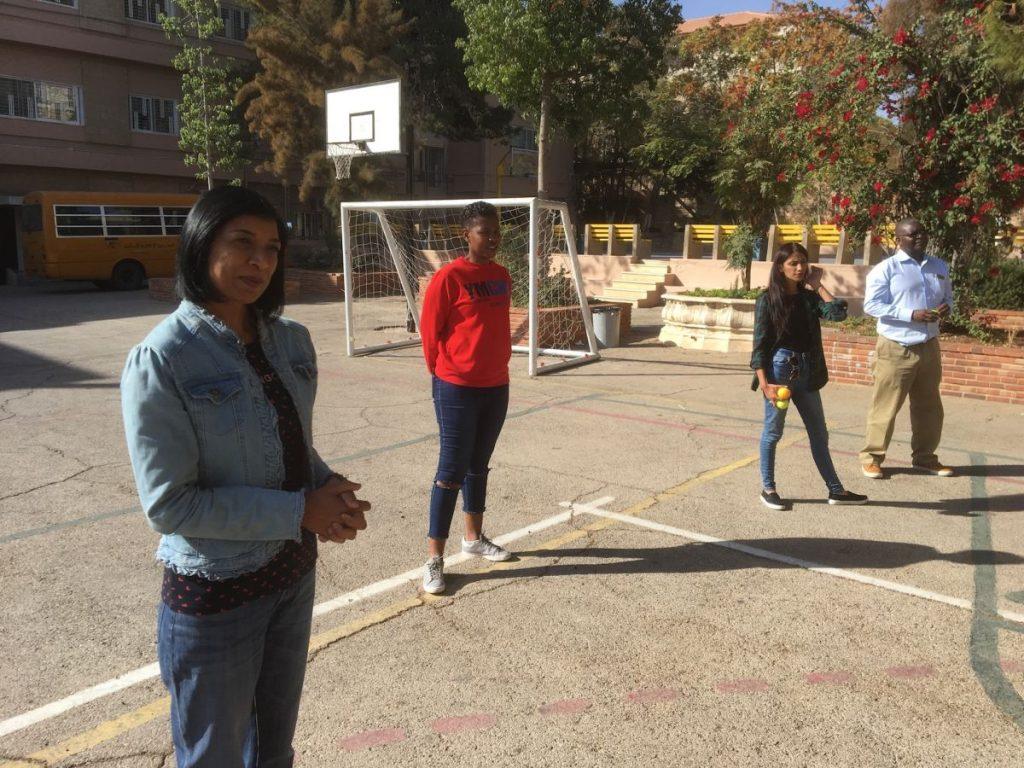 2017 11 12 PhD Module Amman Exercise Schoolyard