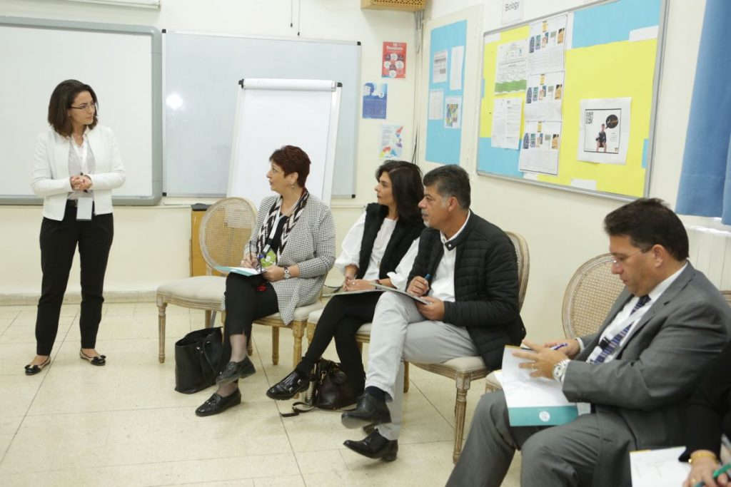 2017 11 18 Amman ASG Integral Education Roundtable 23 with Facilitator Nour Abu Ragheb