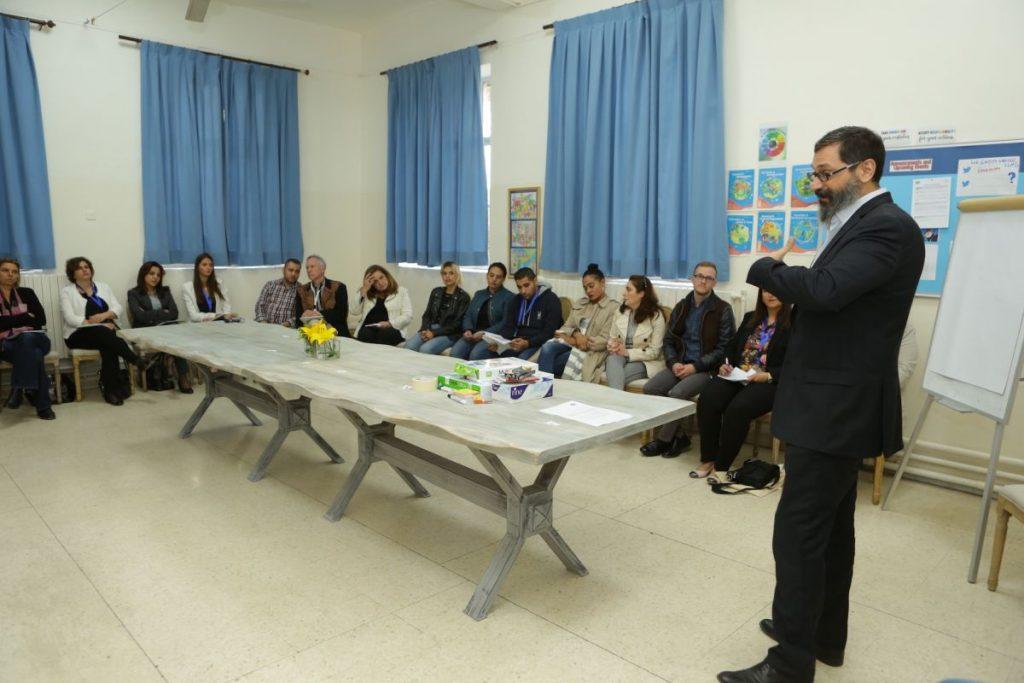 2017 11 18 Amman ASG Integral Education Roundtable 25 with Facilitator Yazan Majaj 2