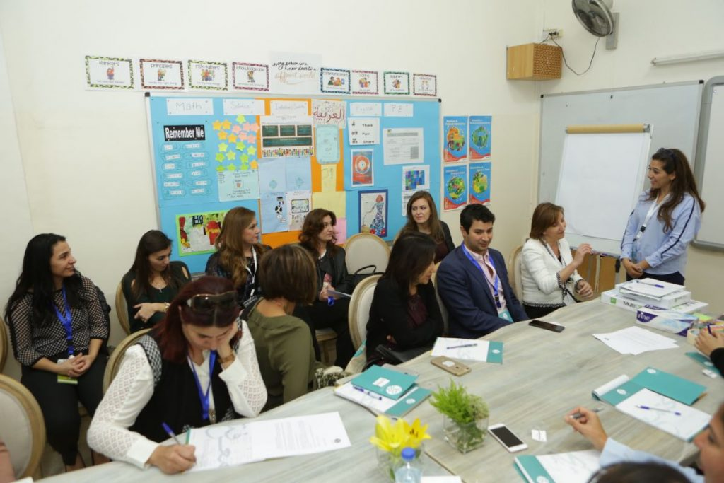 2017 11 18 Amman ASG Integral Education Roundtable 27 with Facilitator Zina Khoury 2