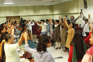 Collaborative Knowledge Creation: Trans4m Co-Engaging in Grassroots Conference in Mumbai