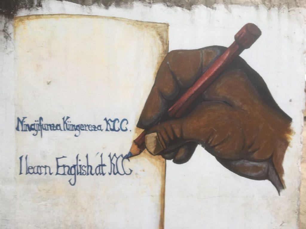 2018 03 18 Tanzania Kigamboni KCC Learning English