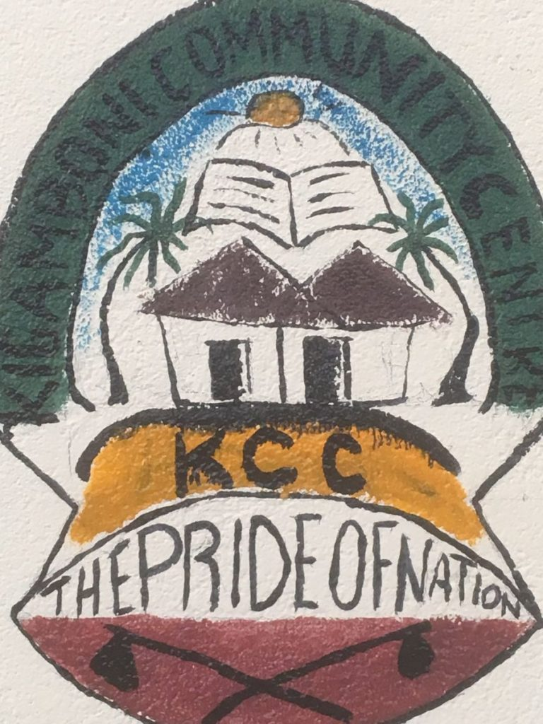 2018 03 18 Tanzania Kigamboni KCC Logo 1