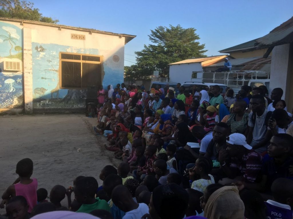 2018 03 18 Tanzania Kigamboni KCC Performance Audience 1