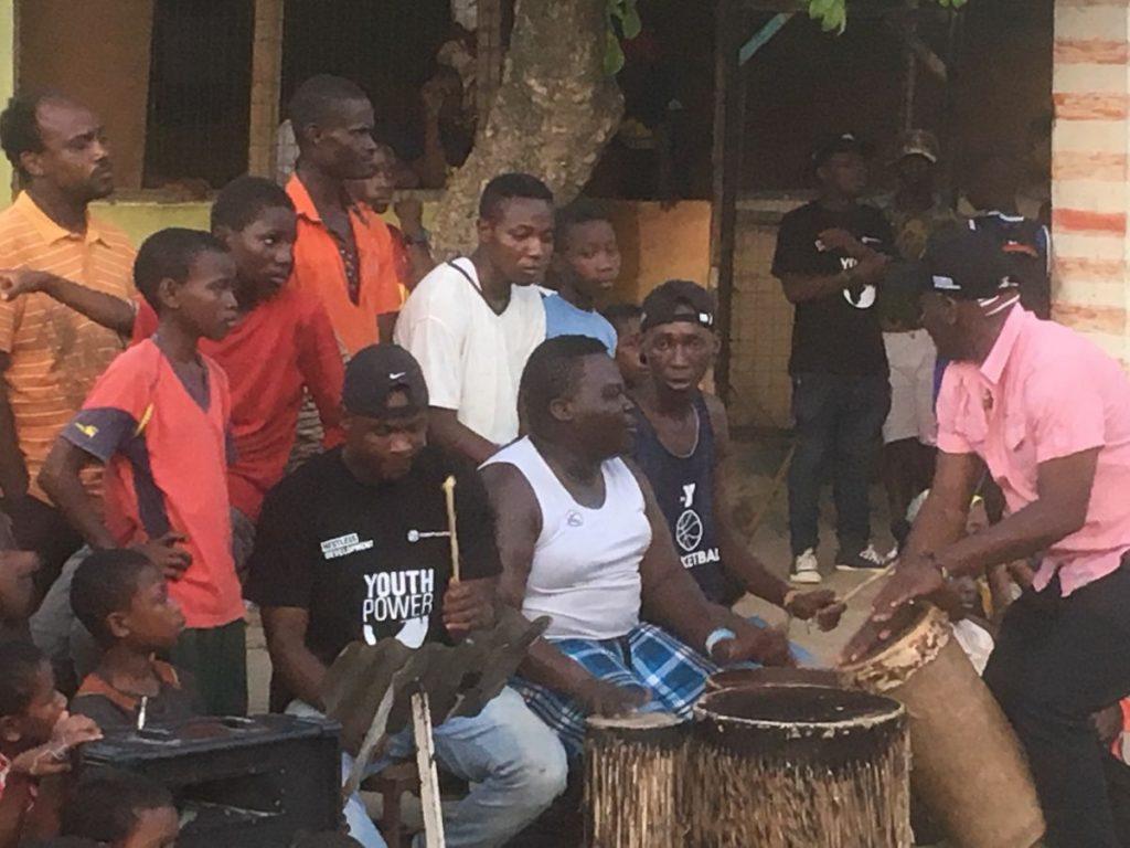 2018 03 18 Tanzania Kigamboni KCC Performance Drummes 2