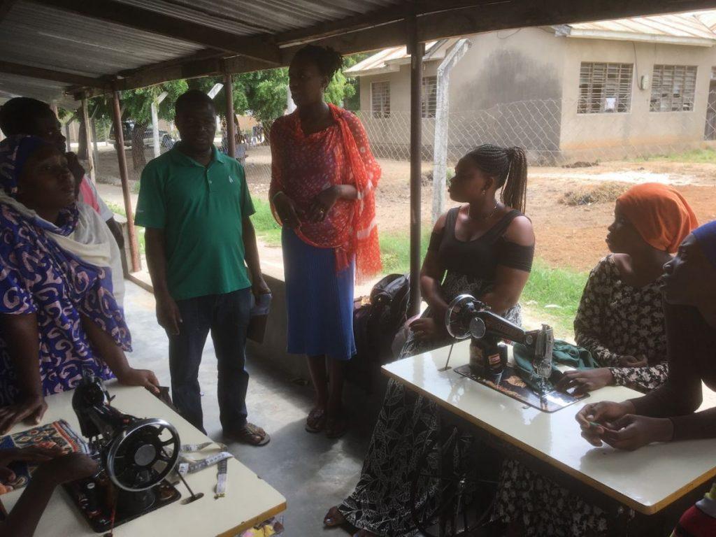 2018 03 18 Tanzania Kigamboni KCC Sewing Class 2