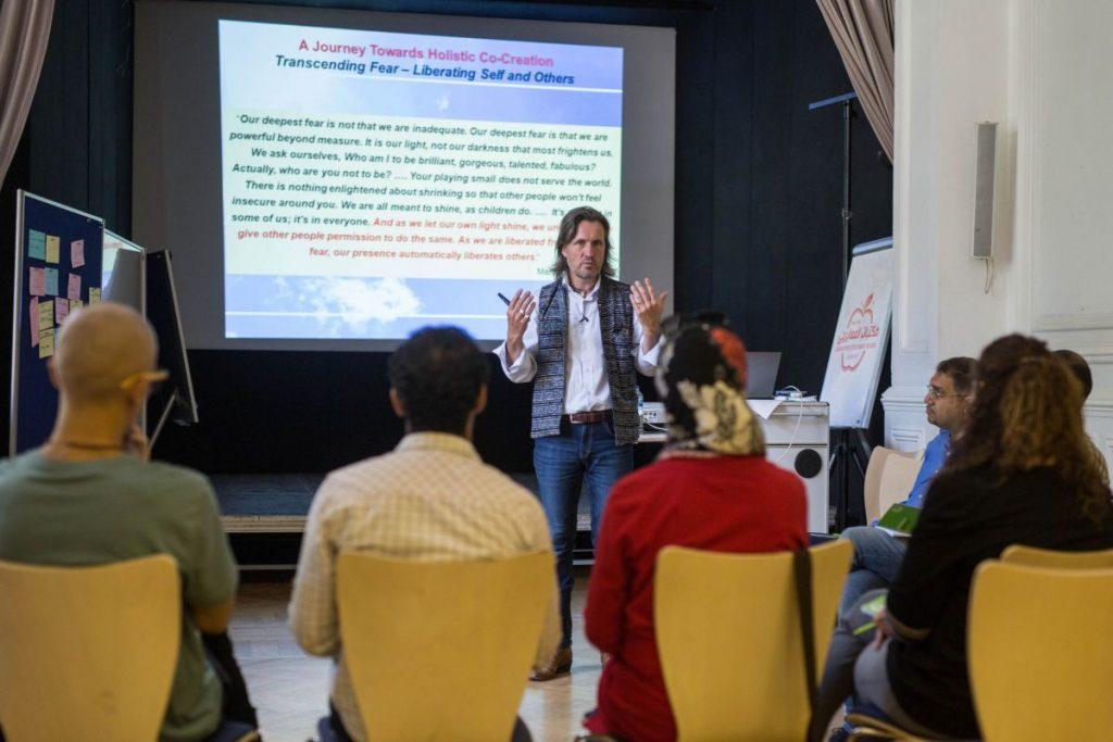 2018 06 08 Cairo Goethe Tahrir Lounge Workshop Alexander Audience 3