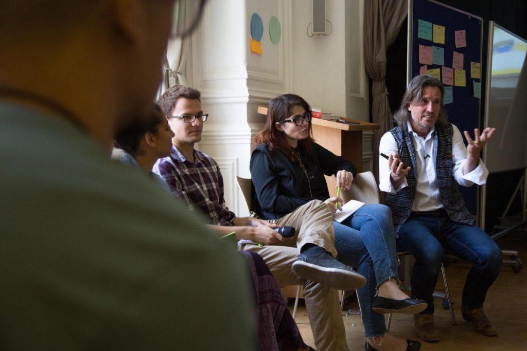 2018 06 08 Cairo Goethe Tahrir Lounge Workshop Alexander Mona Silvan 2