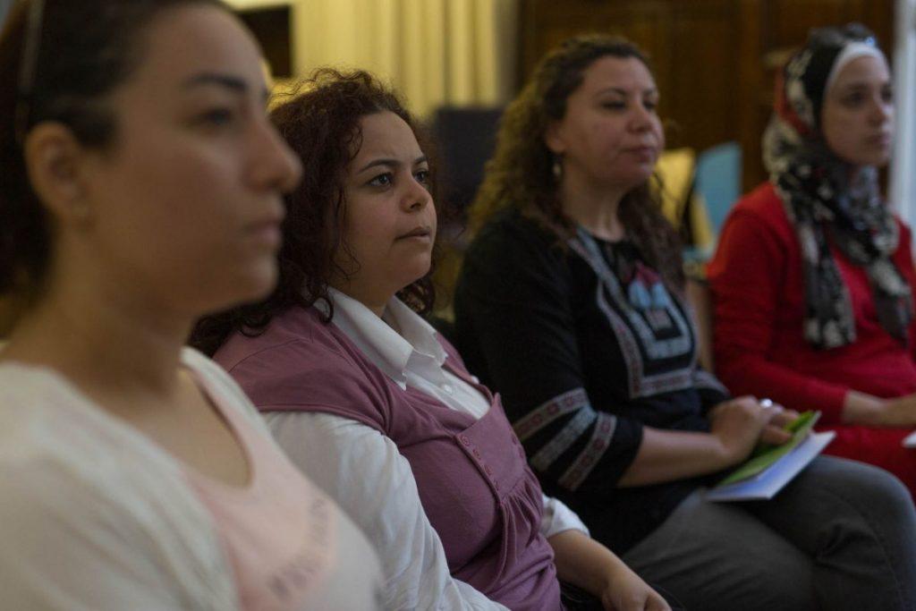 2018 06 08 Cairo Goethe Tahrir Lounge Workshop Audience 7