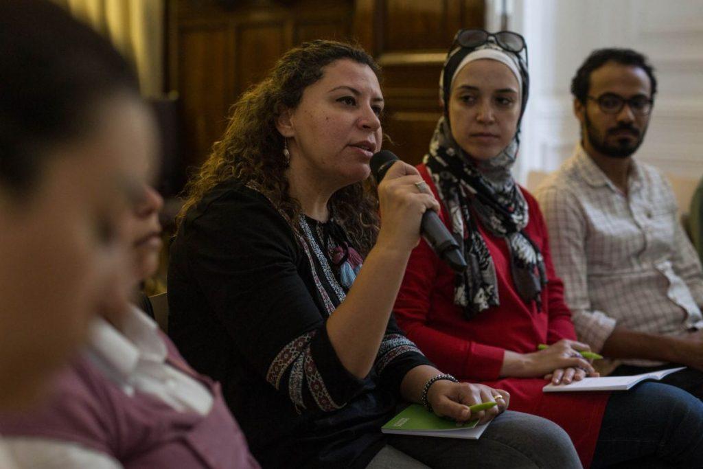 2018 06 08 Cairo Goethe Tahrir Lounge Workshop Audience 8