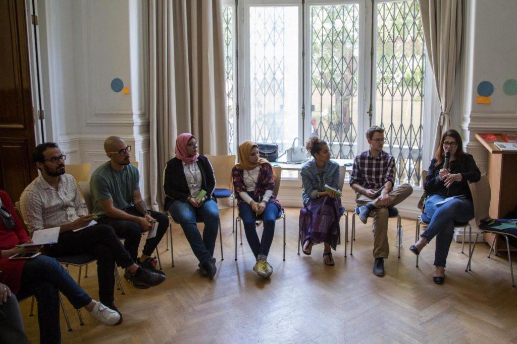 2018 06 08 Cairo Goethe Tahrir Lounge Workshop Audience 9