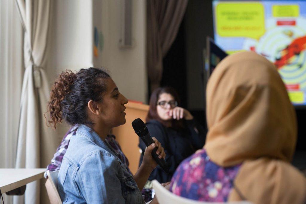 2018 06 08 Cairo Goethe Tahrir Lounge Workshop Menna