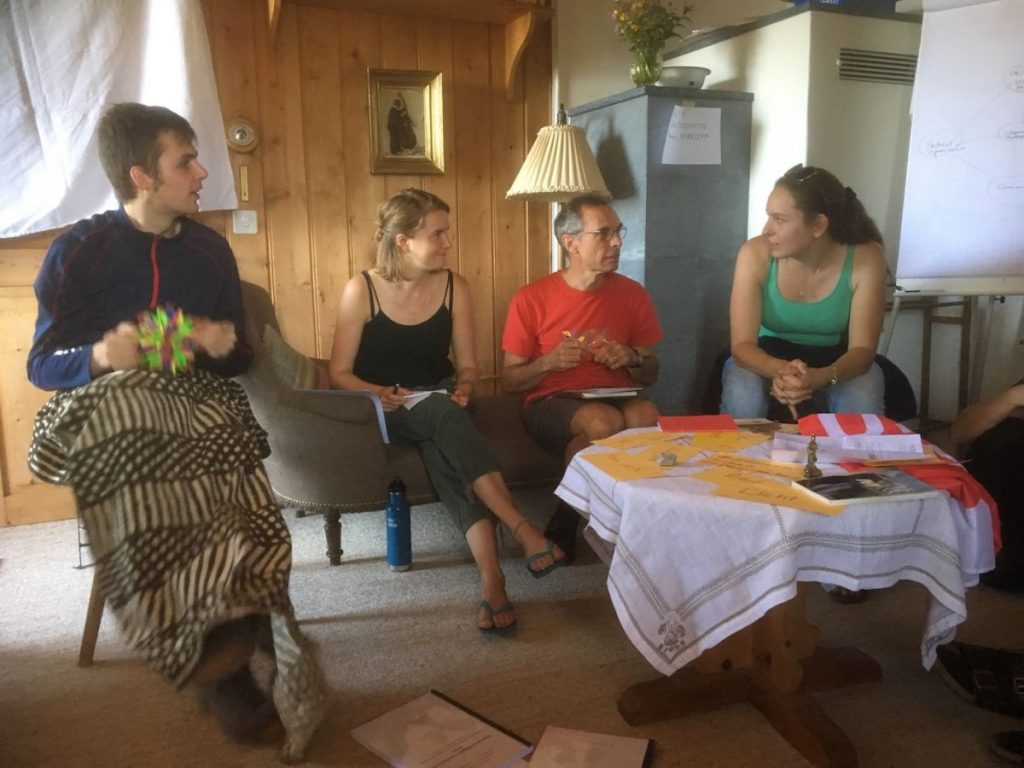 2018 06 18 Switzerland Beatenberg Education Retreat Group Work 1