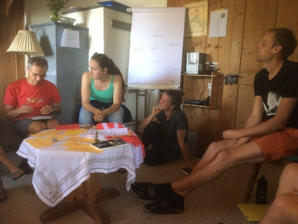 2018 06 18 Switzerland Beatenberg Education Retreat Group Work 2