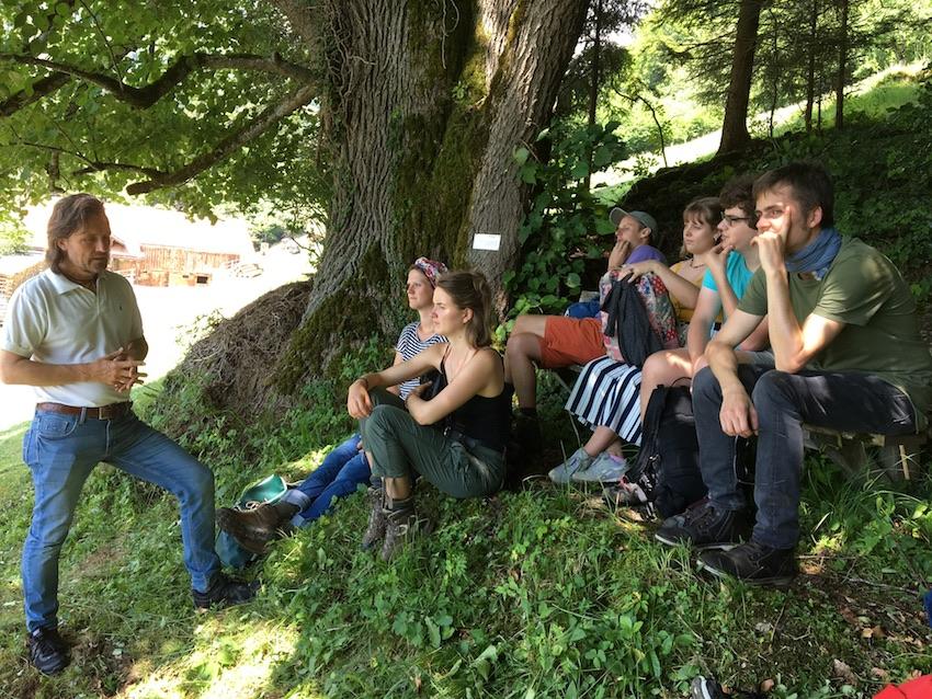 2018 06 18 Switzerland Beatenberg Education Retreat Outdoor Work 4
