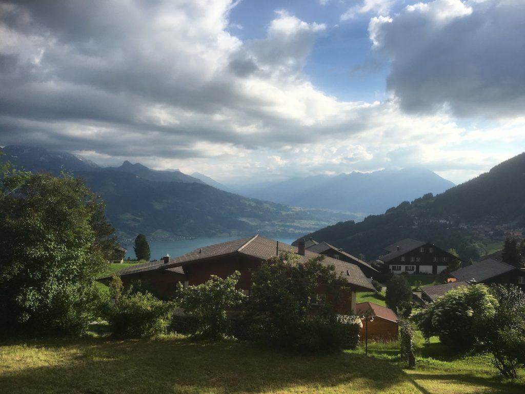 2018 06 18 Switzerland Beatenberg Education Retreat Panorama 2