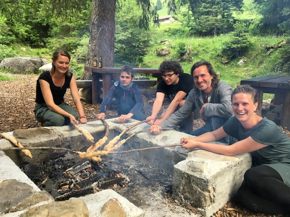 2018 06 18 Switzerland Beatenberg Education Retreat Sharing Food 3