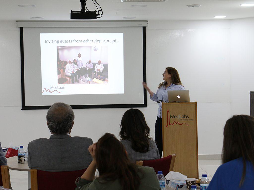 2018 06 26 Amman Manar Nimer Medlabs Community VIVA Laila Lab Director