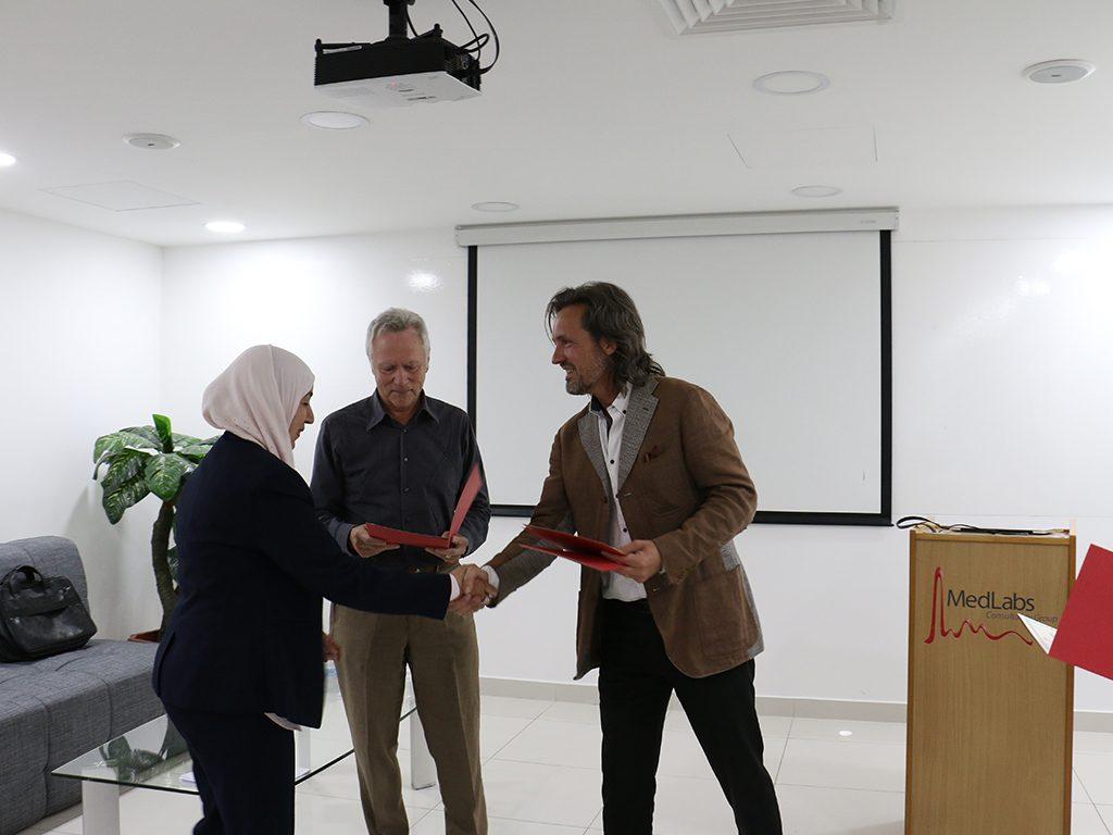 2018 06 26 Amman Manar Nimer Medlabs Community VIVA PHD Award