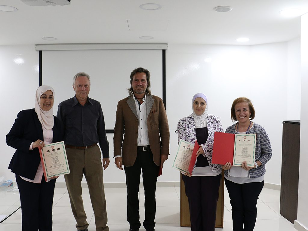 2018 06 26 Amman Manar Nimer Medlabs Community VIVA PHD Award Facilitators