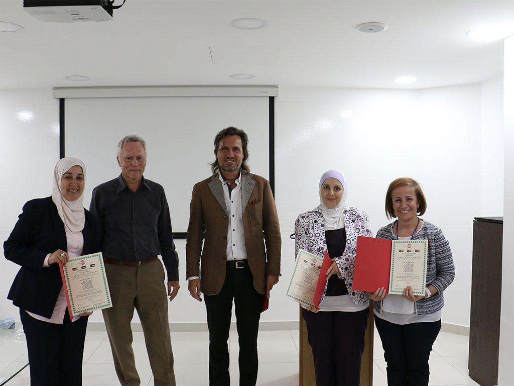 2018 06 26 Amman Manar Nimer Medlabs VIVA PHD Award 1