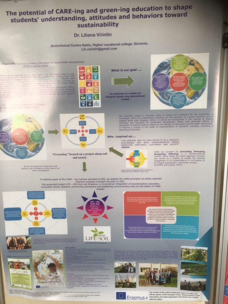 2018 09 11 Slovenia BC Naklo PhD Module Cohort 5 Liliana Poster 4