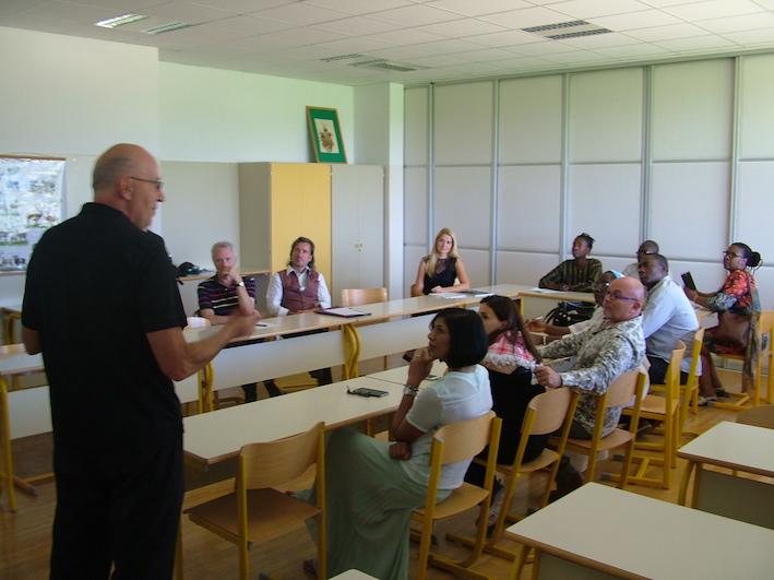 2018 09 11 Slovenia BC Naklo PhD Module Cohort 5 Participants 7