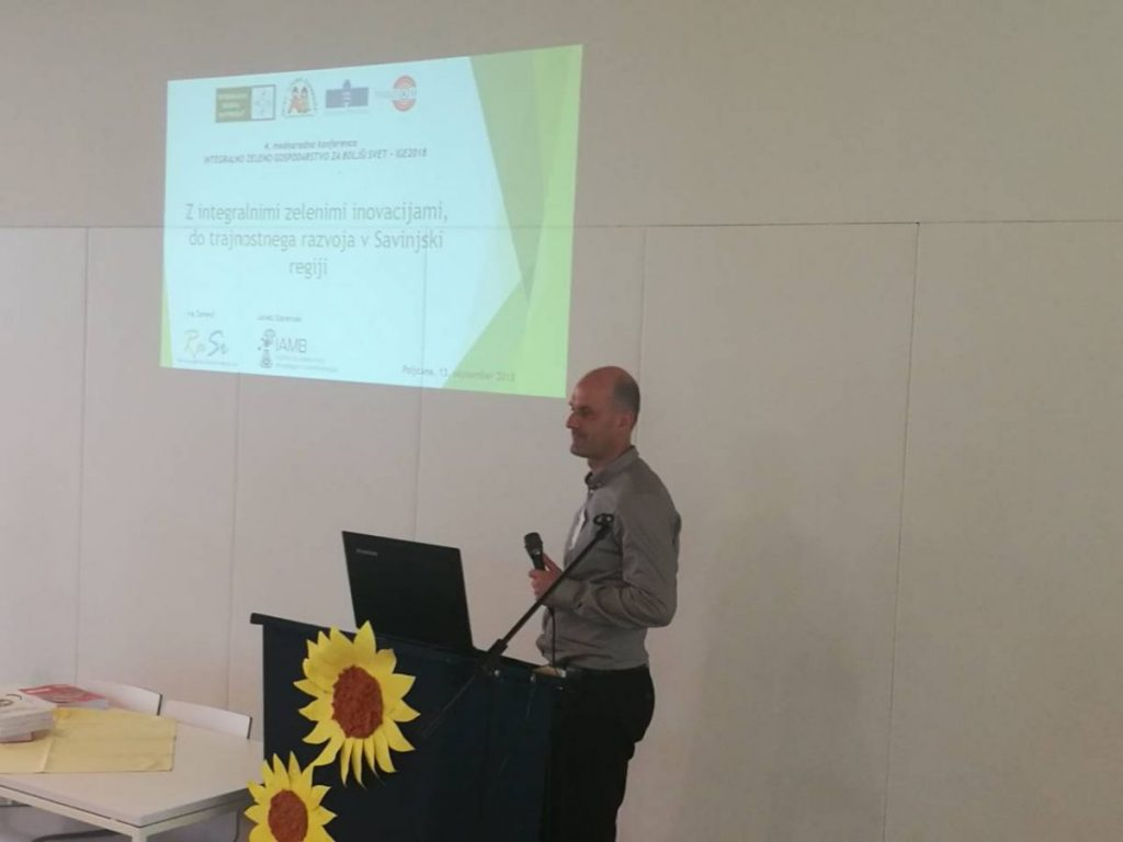 2018 09 13 Slovenia Slovenska Bistrica IGS Conference Savinjska Region Presentation