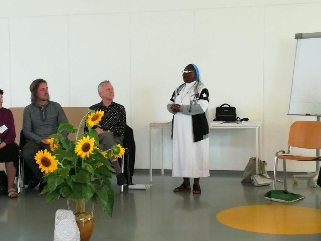 2018 09 13 Slovenia Slovenska Bistrica IGS Conference Sister Esther Presenting