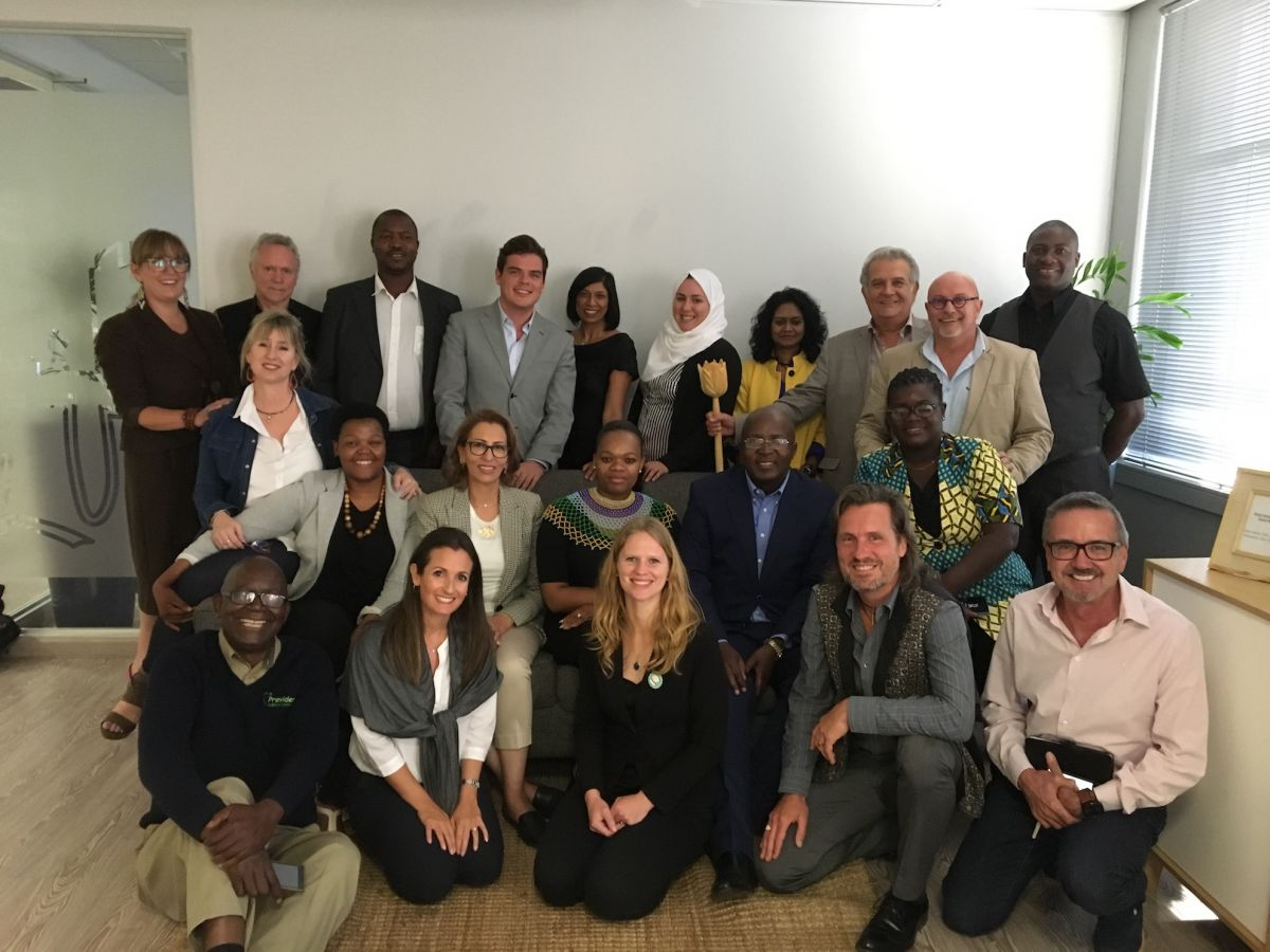 2018 09 21 Johannesburg Integral Enterprise Roundtable Group Picture 1