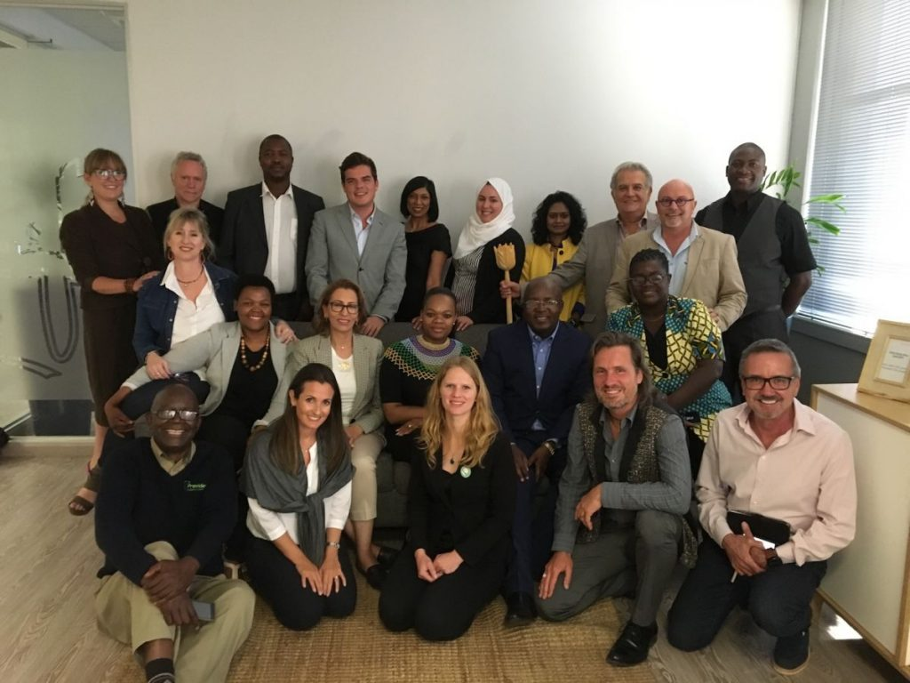 2018 09 21 Johannesburg Integral Enterprise Roundtable Group Picture 2