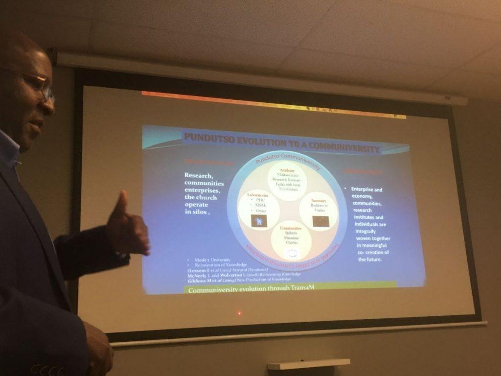 2018 09 21 Johannesburg Integral Enterprise Roundtable Pundutso Passmore Matupire 1