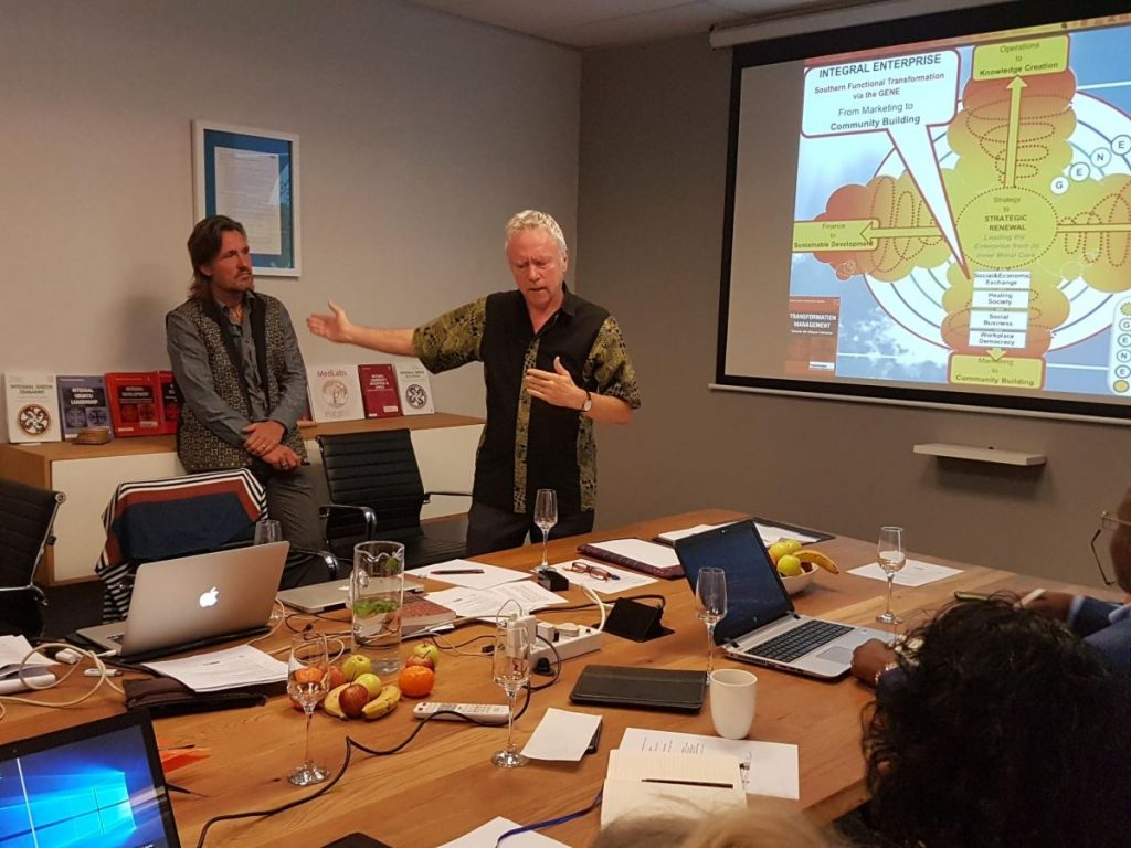 2018 09 21 Johannesburg Integral Enterprise Roundtable Ronnie Alexander