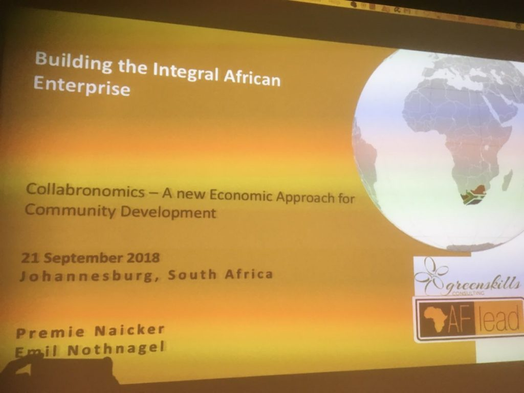 2018 09 21 Johannesburg Integral Enterprise Roundtable Title Slide 1