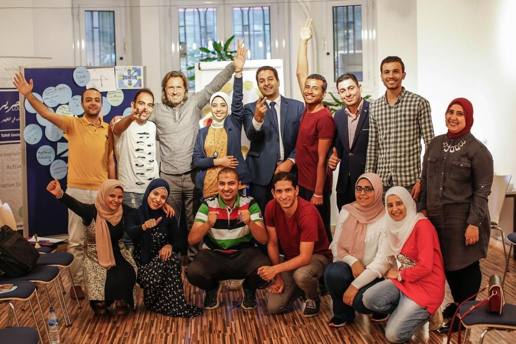 2018 10 20 Cairo Goethe Tahrir Workshop Full Group 1