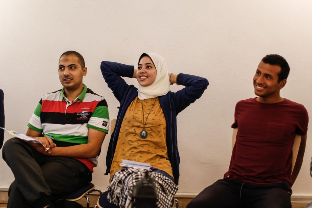 2018 10 20 Cairo Goethe Tahrir Workshop Participants 25