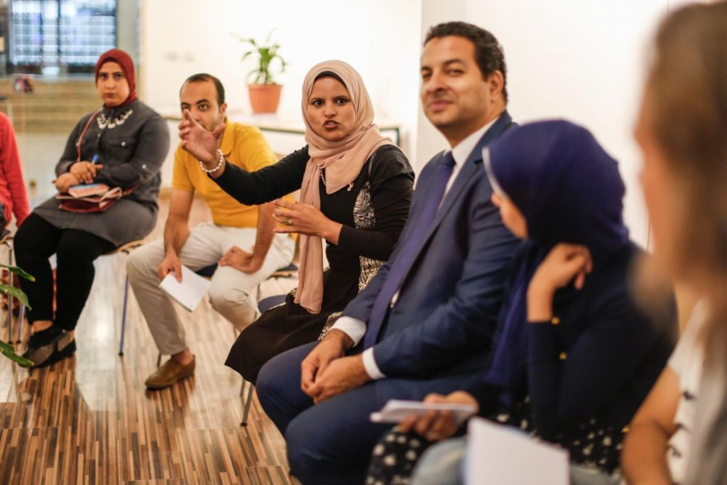 2018 10 20 Cairo Goethe Tahrir Workshop Participants 30