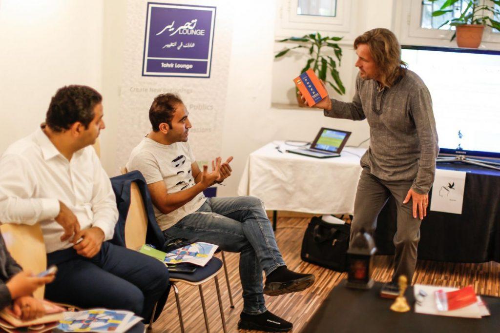 2018 10 20 Cairo Goethe Tahrir Workshop Participants Alexander 9