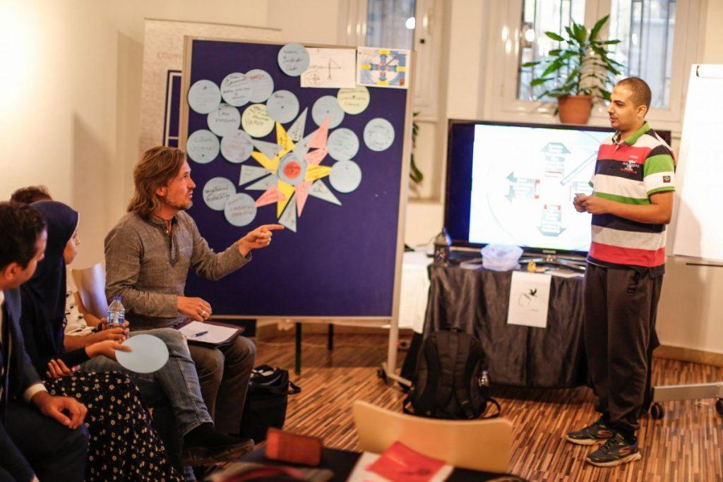 2018 10 20 Cairo Goethe Tahrir Workshop Participants Alexander Hamza