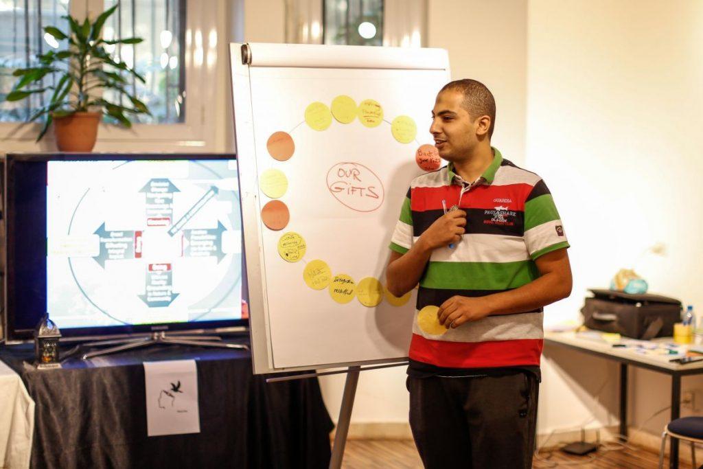 2018 10 20 Cairo Goethe Tahrir Workshop Participants Hamza 2
