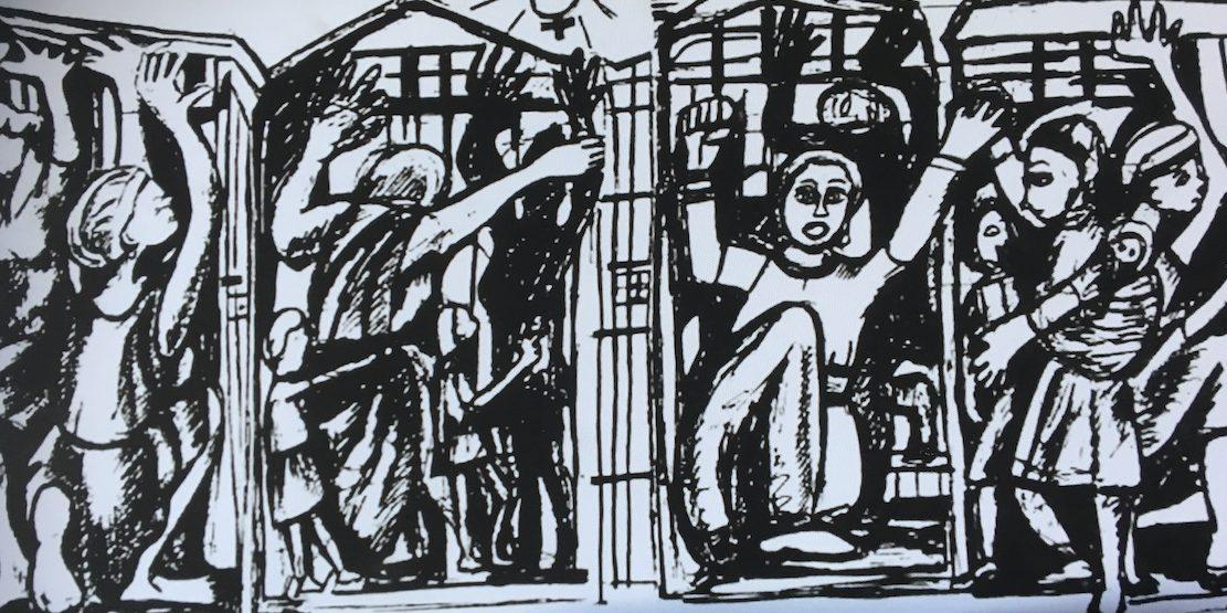 2018 11 06 Geneva Peace Week Panel Alexander Symbol Loshnee Naidoo PhD Artist Sanna