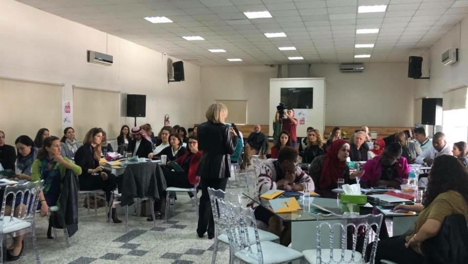 2018 11 22 Amman Tanweer Community Engagement Roundtable Audience with Haifa