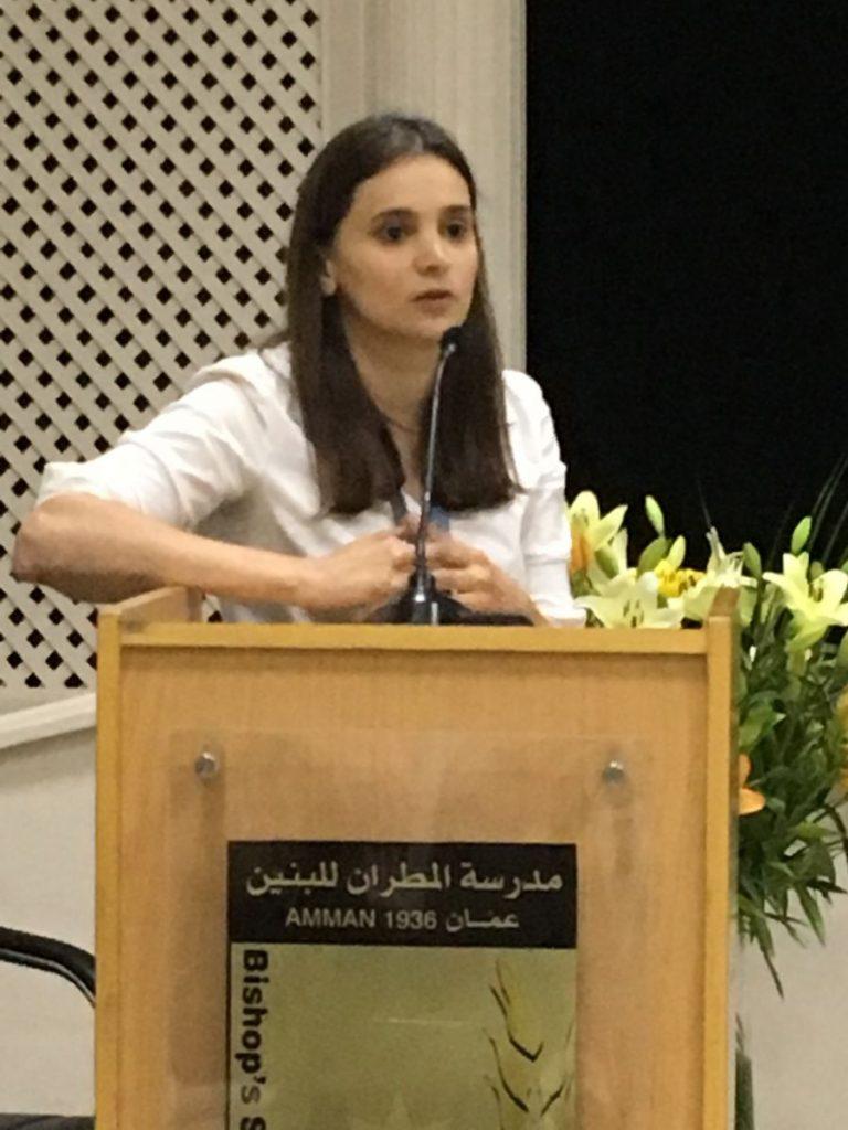 2018 11 22 Amman Tanweer Community Engagement Roundtable Laila Abdul Majeed