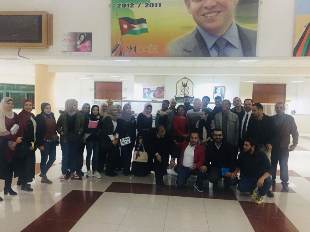 2018 11 27 PhD Partial Group at Yarmouk University Irbid Adel GROUP