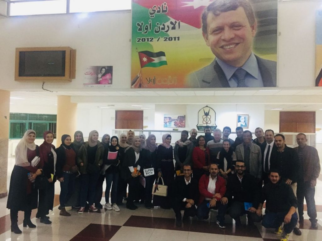 2018 11 27 PhD Partial Group at Yarmouk University Irbid Adel GROUP 2