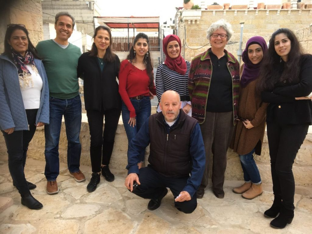 2018 11 29 Ramallah Tamer Institute Workshop Group Picture with Faraj