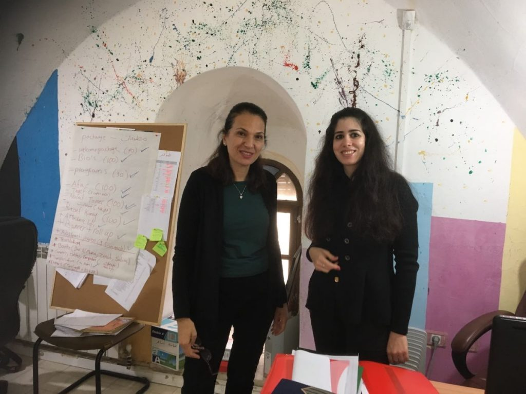 2018 11 29 Ramallah Tamer Institute Workshop Renad Hinah