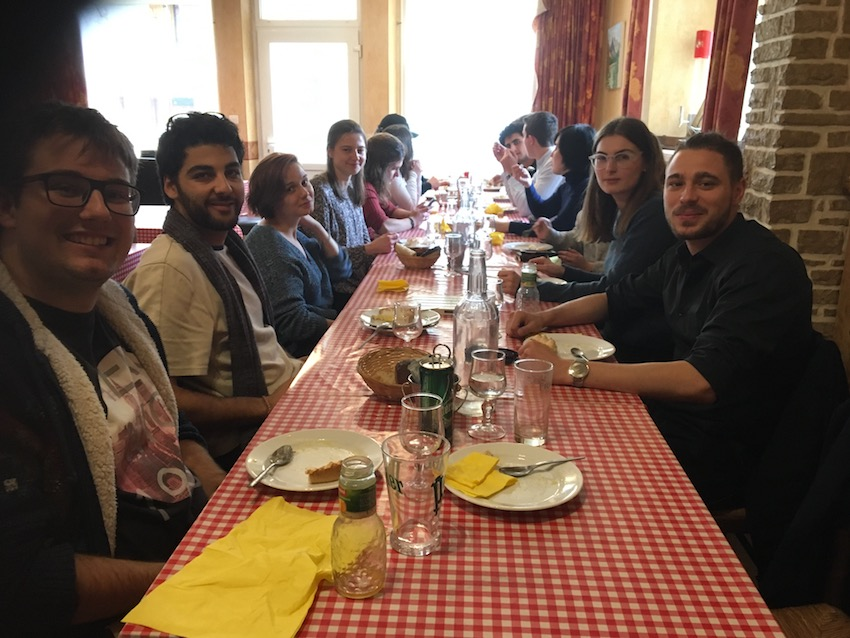 2019 04 08 Integral Development Course 2019 at H4H Lunch Coquain
